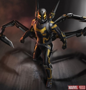 Ant-Man new concept art gives a good look at Yellowjacket
