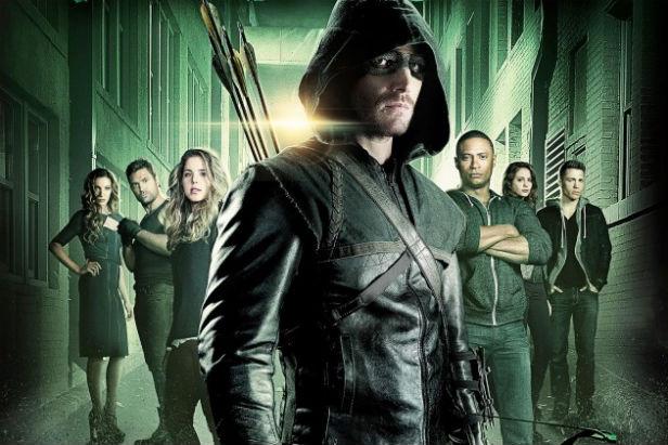 The cast of Arrow Season 3