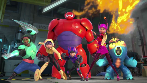 Big Hero 6 Team Disney