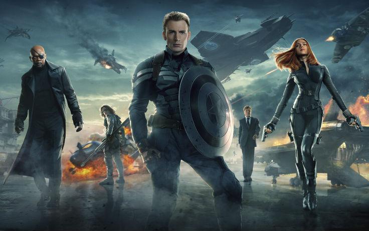 Captain America: The Winter Soldier's core cast