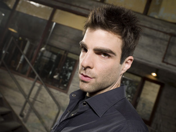 Zachary Quinto as Sylar in Heroes