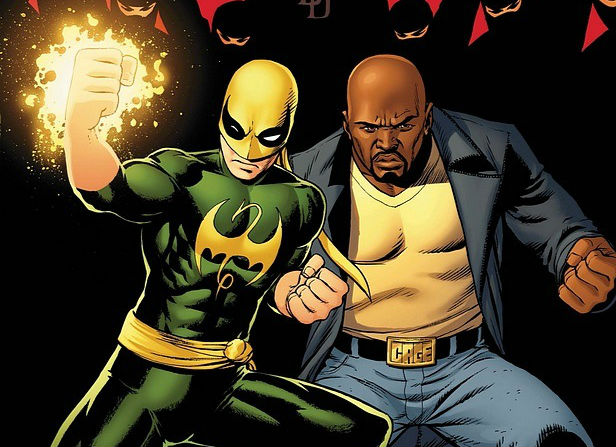Iron Fist and Luke Cage take on the Hand
