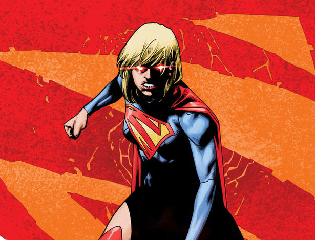 Supergirl #21 cover by Mahmud Asrar