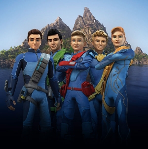Thunderbirds Are Go! first look at the rebooted Tracy Brothers
