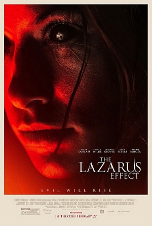 The Lazarus Effect new poster is creepily retro