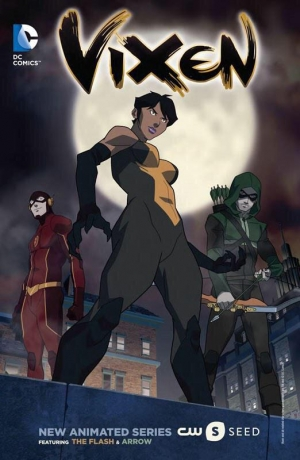 Arrow & Flash spin-off Vixen first art from new cartoon