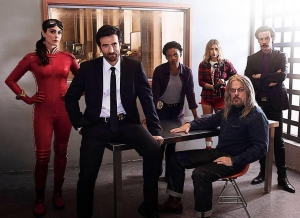 Powers new cast photo stares into your soul