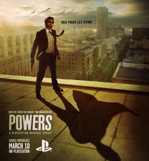 Powers new posters from PlayStation is pretty awesome