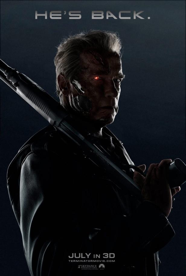 terminator genisys new poster