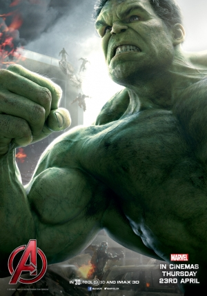 Avengers: Age Of Ultron new Hulk poster is pure muscle