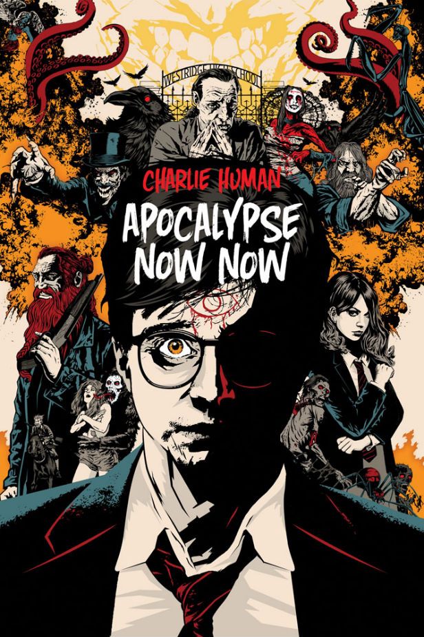 The cover of Apocalypse Now Now designed by Joey Hi-Fi
