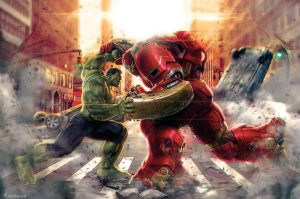 Avengers 2: Age Of Ultron new promo artwork is rad
