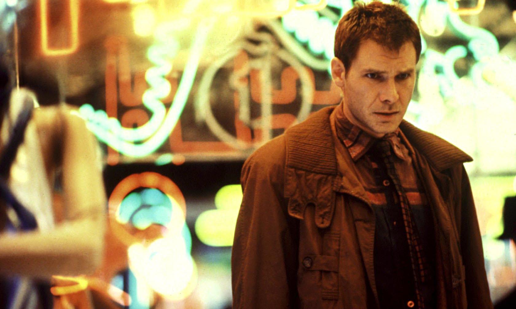 Harrison Ford in 1982's Blade Runner