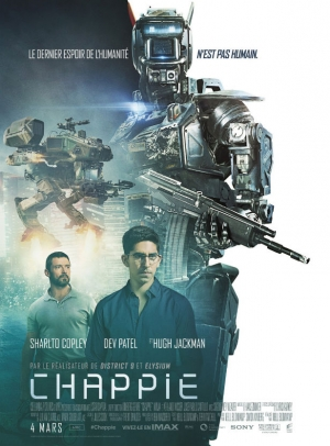 Chappie new French poster gives the humans some room