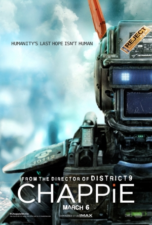 Chappie new poster is humanity's last hope