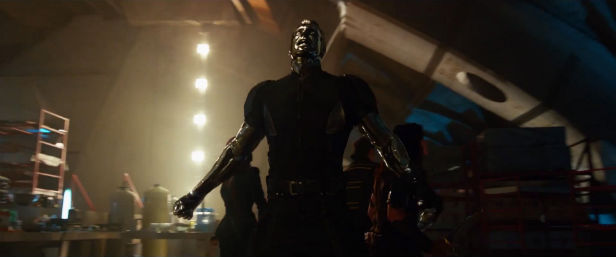 Daniel Cudmore as Colossus in X-Men: Days Of Future Past
