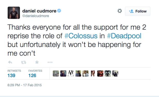 Cudmore tweet 1