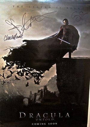 Win a Dracula Untold poster signed by Luke Evans