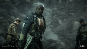 Halo Nightfall Blu-ray review: the first good videogame adap?