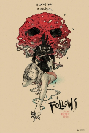 It Follows awesome new art poster doesn't give up