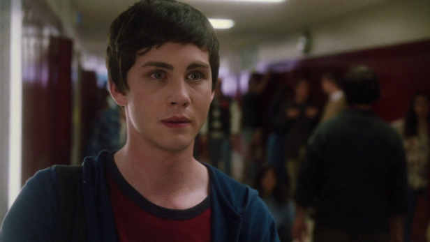 Logan Lerman in Perks Of Being A Wallflower