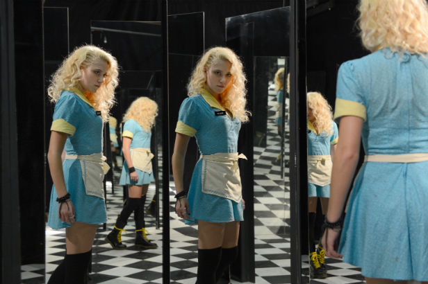 Maika Monroe as Anna Peterson in The Guest