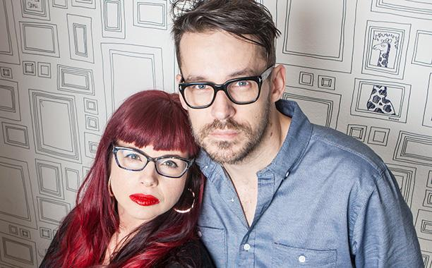 Writers Kelly Sue DeConnick and Matt Fraction