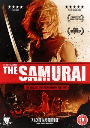 The Samurai German horror artwork isn't messing around