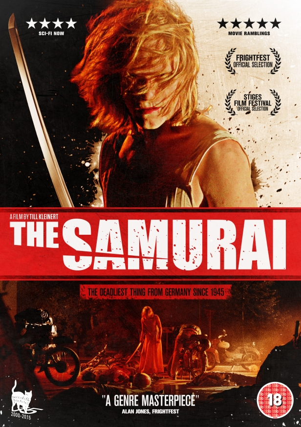 the samurai german horror poster