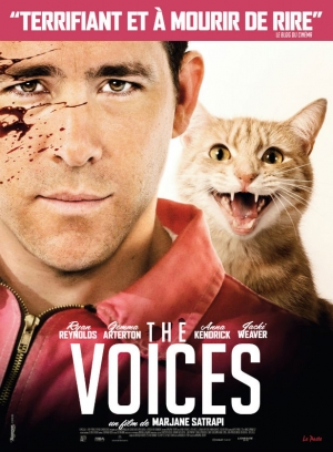 The Voices new French poster shows off the evil cat