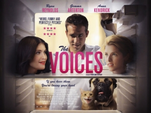 The Voices killer new poster shows Ryan Reynolds' fridge