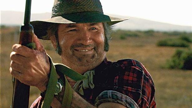 John Jarratt as Wolf Creek's serial killer Mick Taylor