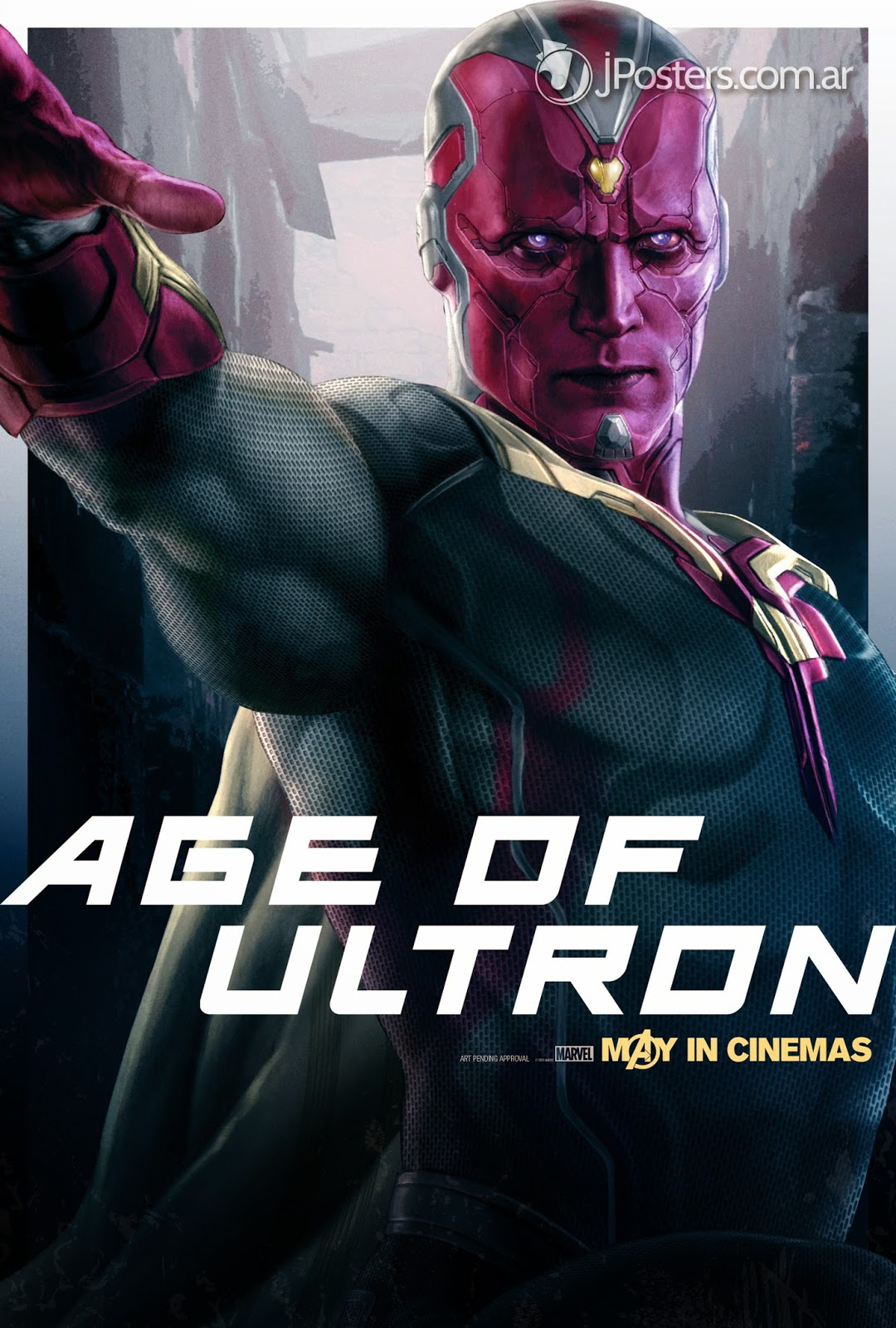age of ultron character posters