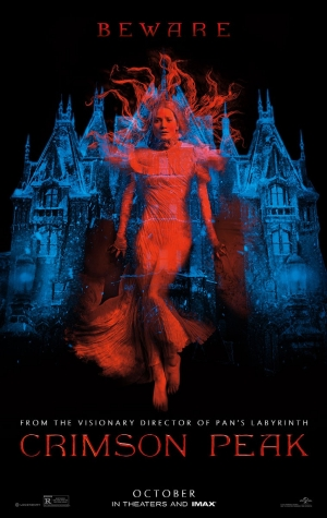 Crimson Peak trailer and poster are gorgeously Gothic