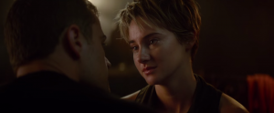 Insurgent first clip gets a bit teary-eyed emotional