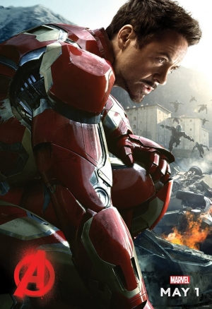 Avengers: Age Of Ultron Iron Man first character poster
