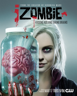 iZombie new poster brings the brains of the operation