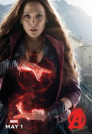 Avengers 2 Quicksilver & Scarlet Witch new posters