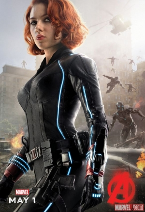 Avengers 2 Black Widow, Fury & Thor character posters