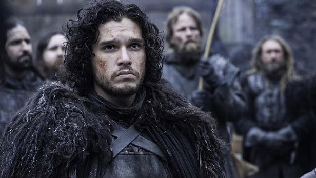 Kit Harington as Jon Snow, knowing nothing