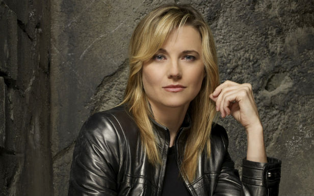 Lucy Lawless in Battlestar Galactica