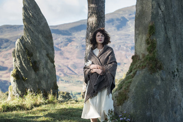 Claire finds herself out of time in Outlander
