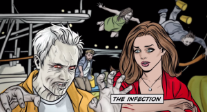 iZombie main titles designed by Mike Allred are brilliant