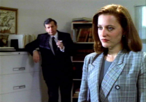 Cigarette Smoking Man makes an early appearance