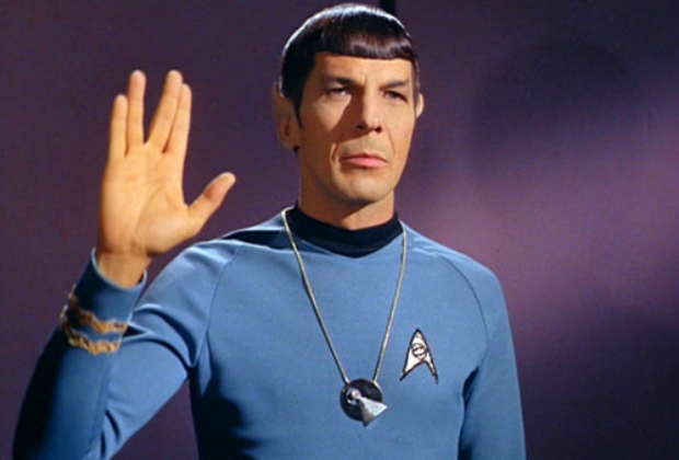 Leonard Nimoy as Spock in Star Trek: The Original Series