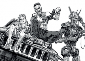 Chappie awesome concept art and behind the scenes images