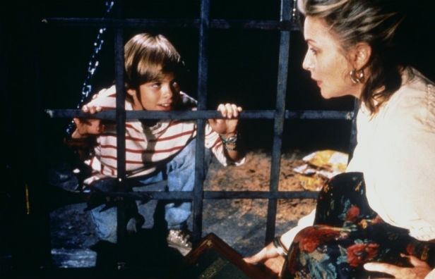 Debbie Harry and her dinner in Tales From The Darkside: The Movie