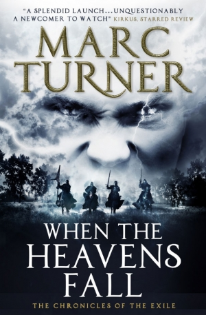 When The Heavens Fall by Marc Turner cover reveal