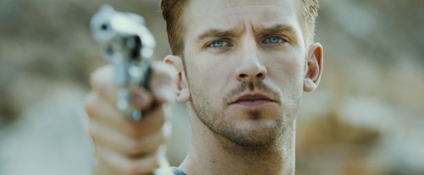Lovely Dan Stevens as a psychopathic, genetically-engineered killer in The Guest