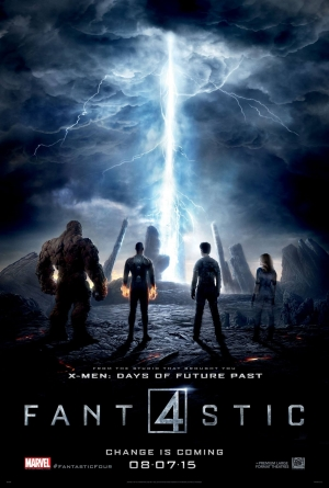 Fantastic Four new poster powers up